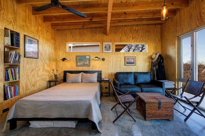 plywood shack