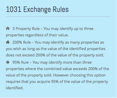 1031 rules