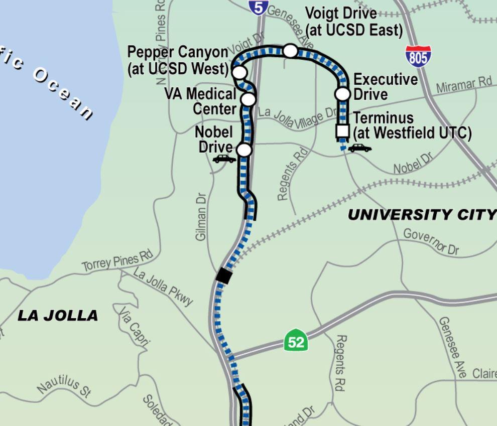 $1B Mid-Coast Trolley Extension - bubbleinfo.com